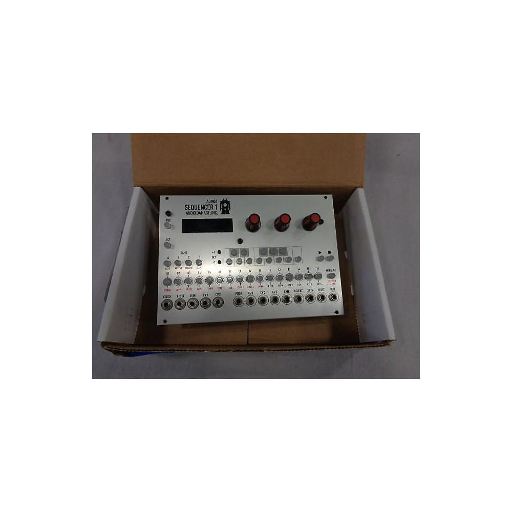 Used Audio Damage Sequencer 1 Sound Module