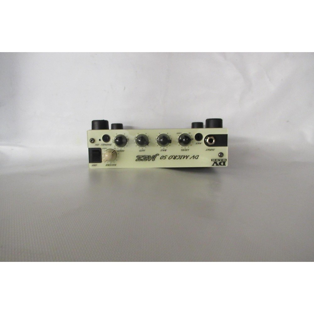 Dv Mark Micro 50 Jazz Solid State Guitar Amp Head