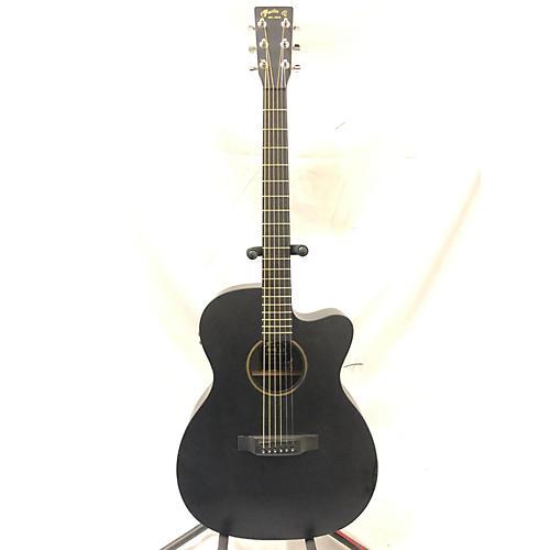 used martin 000cxe acoustic electric guitar black guitar center. Black Bedroom Furniture Sets. Home Design Ideas