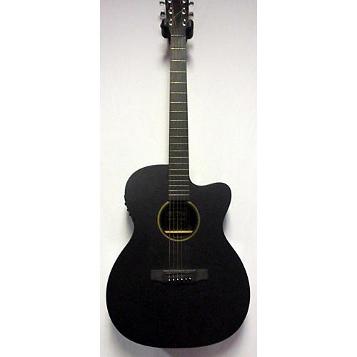 used martin 000cxe acoustic electric guitar flat black guitar center. Black Bedroom Furniture Sets. Home Design Ideas
