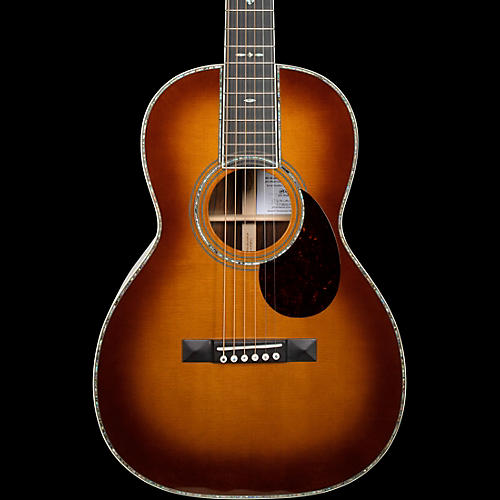 Martin 0042JM-C John Mayer Crossroads Cocobolo Parlor Acoustic Guitar Ambertone