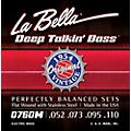 LaBella 0760M Deep Talkin' Bass 1954 Original Flat Wound Electric Bass Strings thumbnail