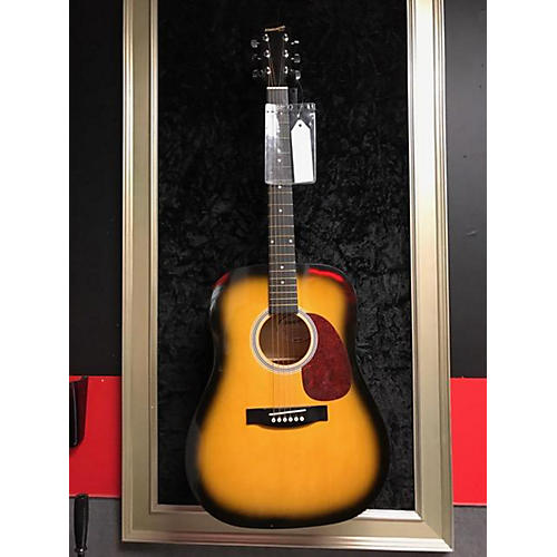 used starcaster by fender 0910104124 acoustic electric guitar guitar center. Black Bedroom Furniture Sets. Home Design Ideas
