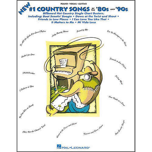Hal Leonard #1 Country Songs of the '80s and '90s Songbook