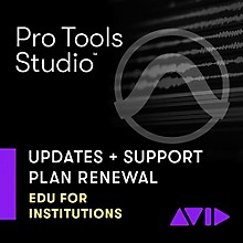 Avid 1-Year Software Updates + Support RENEWAL for Pro Tools Academic Institution Perpetual License (Download)