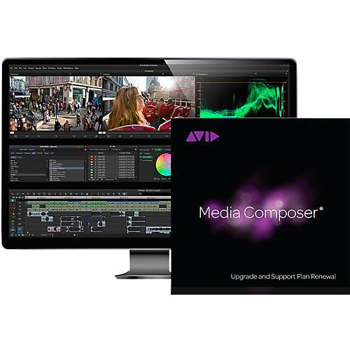 Avid 1-Year Update/Support Renewal Media Composer Perpetual (Download)