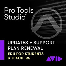 Avid 1-Year Updates + Support Plan for Pro Tools Teachers/College Student Perpetual License Expired Plan (Download)