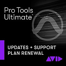 Avid 1-Year Updates + Support RENEWAL for Pro Tools | Ultimate Perpetual License (Download)