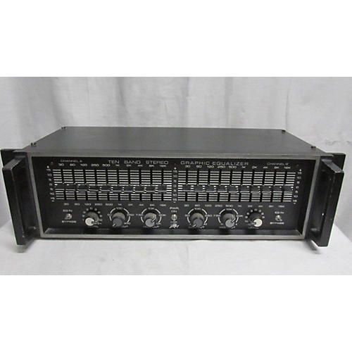 Peavey 10 Band Stereo Graphic Equalizer Equalizer