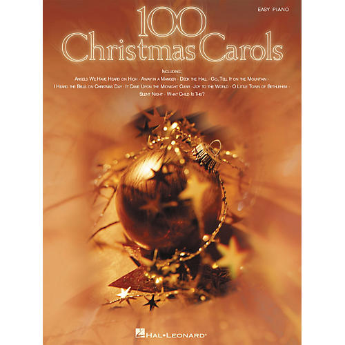 Hal Leonard 100 Christmas Carols For Easy Piano