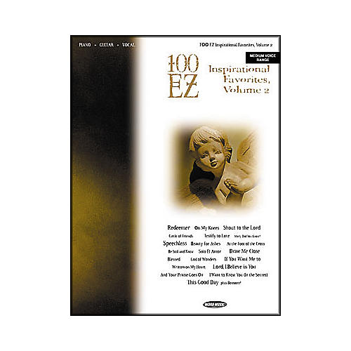 Word Music 100 EZ Inspirational Favorites - Volume 2 (Book)