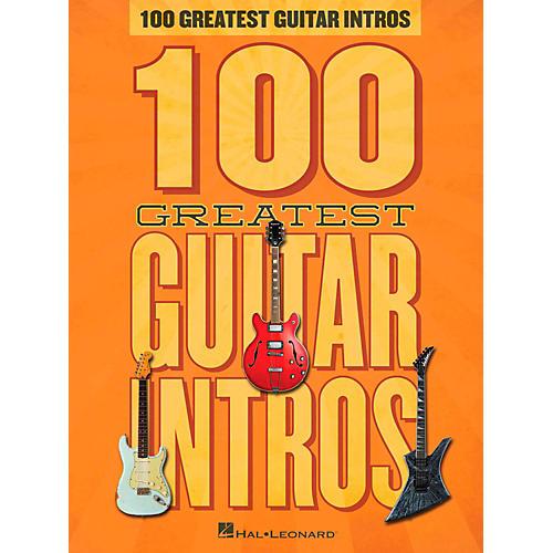 Hal Leonard 100 Greatest Guitar Intros