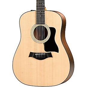 taylor 100 series 2017 150e dreadnought 12 string acoustic electric guitar natural guitar center. Black Bedroom Furniture Sets. Home Design Ideas