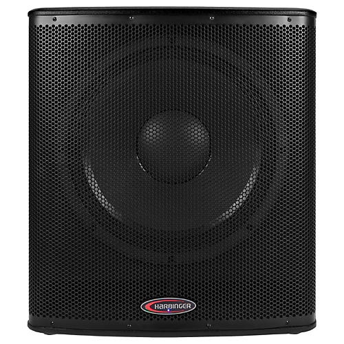 Harbinger 1000W Subwoofer with BBE Processing