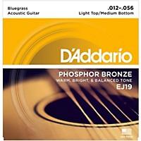 D'addario Ej19 Phosphor Bronze Bluegrass  ...