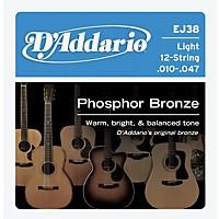D'addario Ej38 12-String Phosphor Bronze  ...