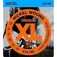 D'addario Exl140 Nickel Light Top/Heavy  ...