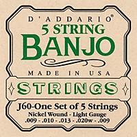 D'addario J60 5-String Banjo  ...