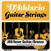 D'addario J66 80/20 Tenor Guitar Strings
