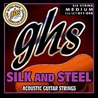 Ghs 350 Silk And Steel Medium Acoustic  ...