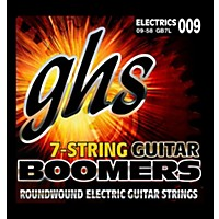 Ghs Gb7l Boomers 7-String Electric Guitar  ...