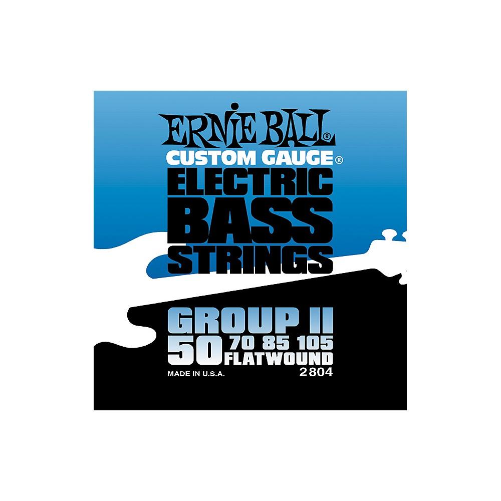 Ernie Ball 2804 Flat Wound Group Ii Electric Bass Strings