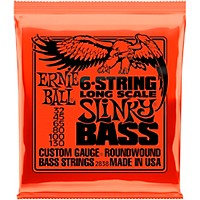 Ernie Ball 2838 Slinky Wound 6-String Electric Bass Strings
