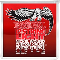 Ernie Ball 2233 Nickel 12-String Light  ...