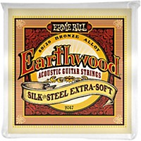Ernie Ball 2047 Earthwood 80/20 Bronze Silk  ...