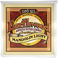 Ernie Ball 2067 Earthwood 80/20 Bronze Mandolin Light Strings
