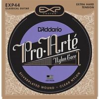 D'addario Exp44c Coated Extra Hard Classical Guitar Strings
