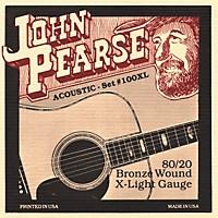 John Pearse 100Xl 80/20 Bronze Acoustic Guitar Strings