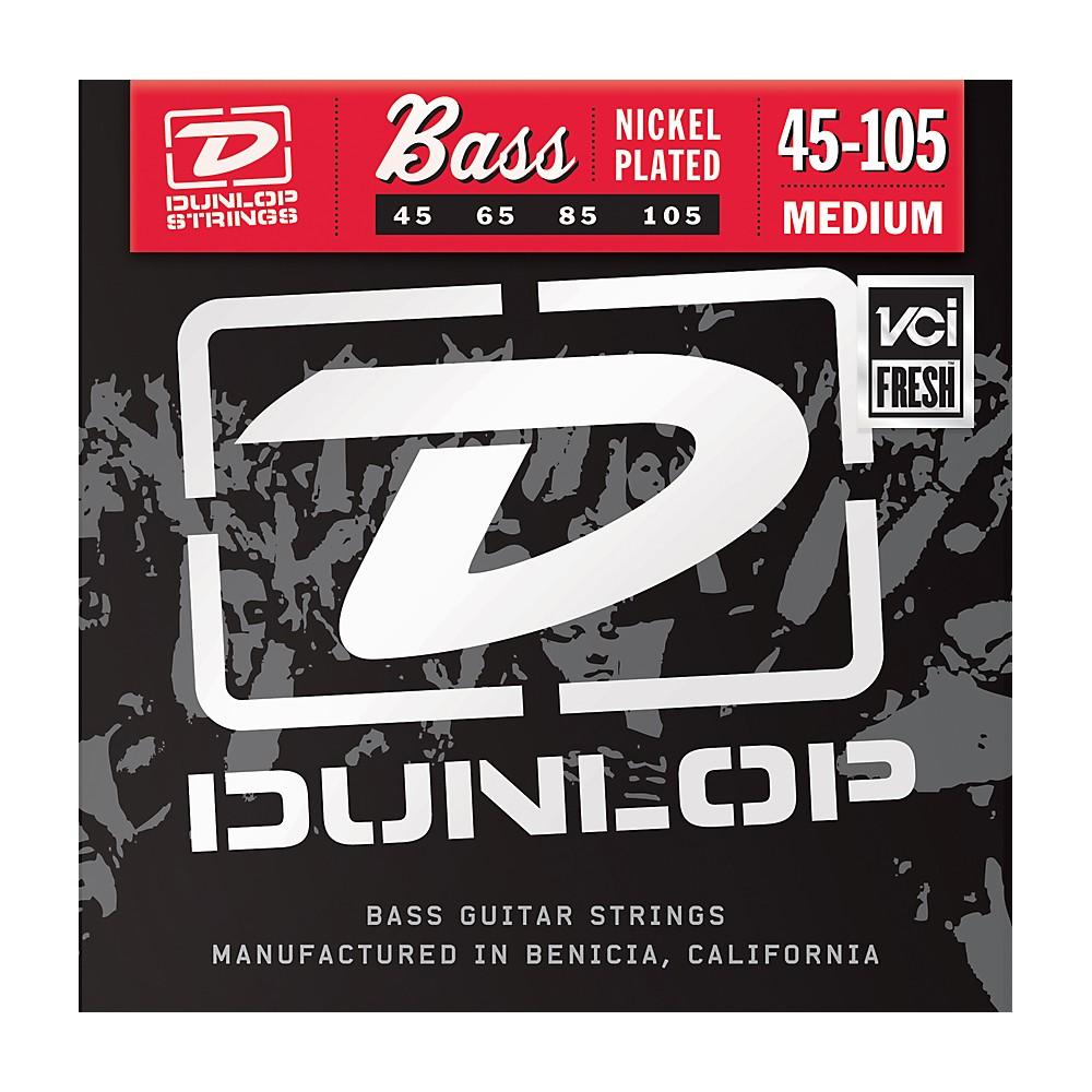 Dunlop Nickel Plated Steel Bass Strings Medium 1274228081887