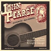 John Pearse 500Xl Bronze Acoustic Guitar  ...