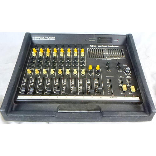 Tapco 100M The Entertainer Powered Mixer