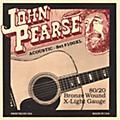 John Pearse 100XL 80/20 Bronze Acoustic Guitar Strings thumbnail