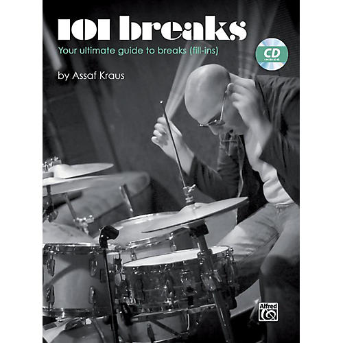 Alfred 101 Breaks Drum Book & CD