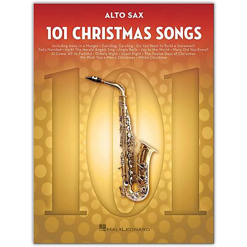 Hal Leonard 101 Christmas Songs for Alto Sax
