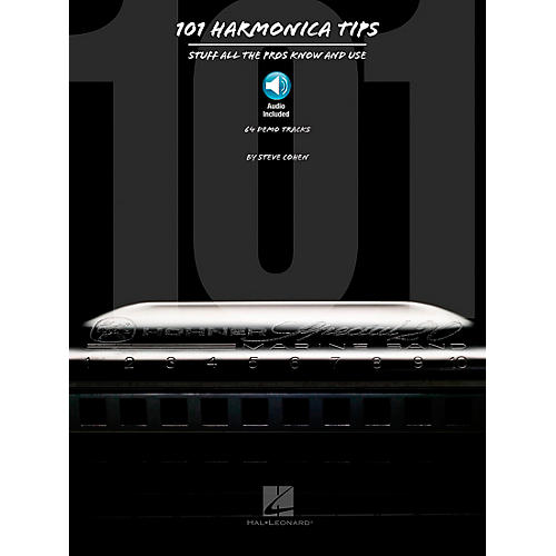 Hal Leonard 101 Harmonica Tips - Stuff All The Pros Know And Use (Book/Online Audio)