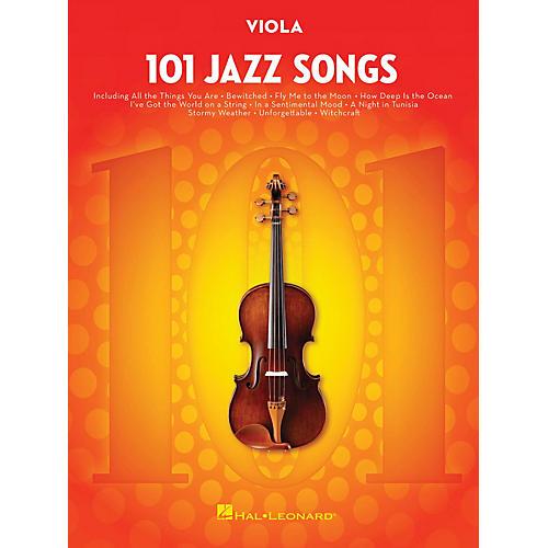 Hal Leonard 101 Jazz Songs for Viola Instrumental Folio Series Softcover
