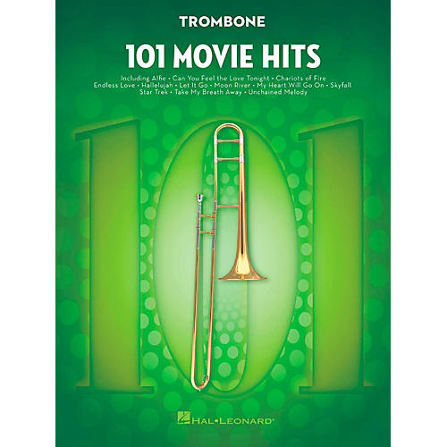 Hal Leonard 101 Movie Hits - Trombone