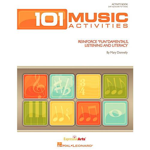Hal Leonard 101 Music Activities - Reinforce Fundamentals, Listening and Literacy Activity Book