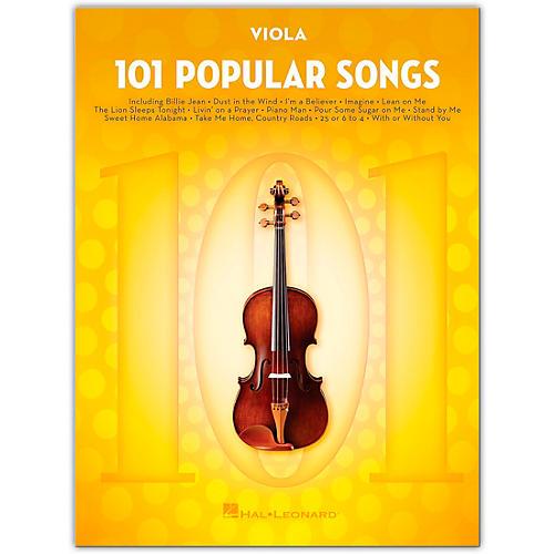 Hal Leonard 101 Popular Songs for Viola