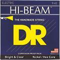 DR Strings LTR-9 Hi-Beam Nickel Light Electric Guitar Strings