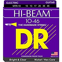 Dr Strings Mtr10 Hi-Beam Nickel Medium  ...