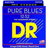 Dr Strings Phr12 Pure Blues Nickel Extra  ...