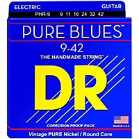 Dr Strings Phr9 Pure Blues Nickel Light  ...