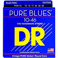Dr Strings Phr10 Pure Blues Nickel Medium  ...