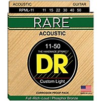 Dr Strings Rpml-11 Custom Light Rare  ...