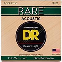 Dr Strings Rpml-11 Rare Phosphor Bronze Acoustic Guitar Strings